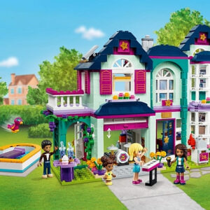 lego friends andreas family house review