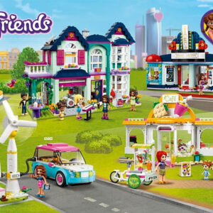 lego friends organic cafe city park review