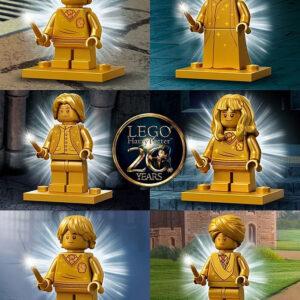 lego golden harry potter ninjago minifigs