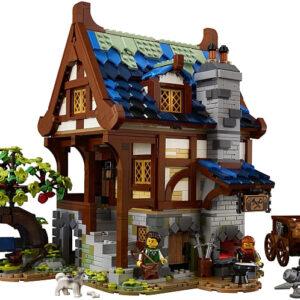 lego medieval blacksmith compatible buildings