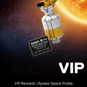 lego nasa ulysses space probe vip reward now sold out