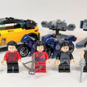 the first review of lego marvel 76176 escape from the ten rings has appeared