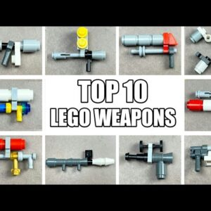 TOP 10 Simple Lego Weapons for Minifigures