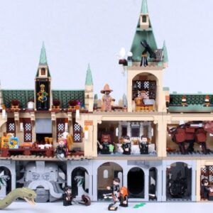 combining the lego harry potter 20th anniversary hogwarts sets