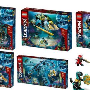 dive into lego ninjago seabound season 15 legacy set photos