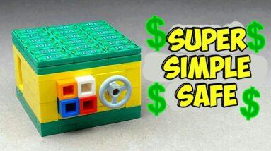 How to make a Lego Button Safe