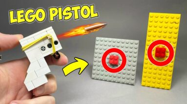 How to make a Lego Powerful Pistol
