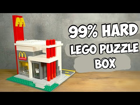IT IS NOT A McDonalds! How to make a Lego Puzzle Box