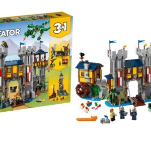lego creator 3 in 1 31120 medieval castle unveiled