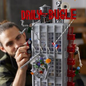 lego daily bugle 2021 now available through lego vip early access
