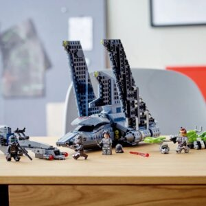 lego designers included speeder bikes in 75314 the bad batch attack shuttle without knowing why