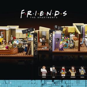 lego f r i e n d s apartments now available