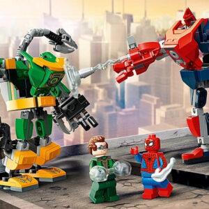lego spider man dr octopus mech battle review