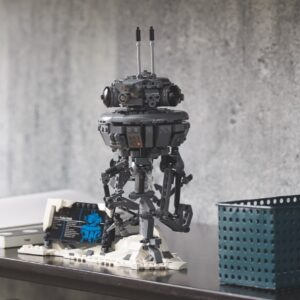 lego star wars 75306 imperial probe droid designer video reveale
