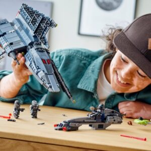 lego star wars 75314 the bad batch attack shuttles build includes a surprising twist