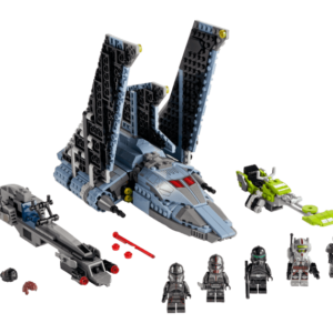 lego star wars the bad batch attack shuttle 75314 now up for pre order