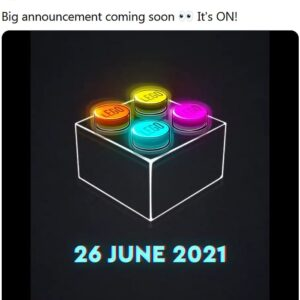 lego teasing big announcement coming soon