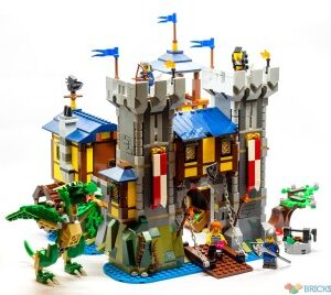 review 31120 medieval castle