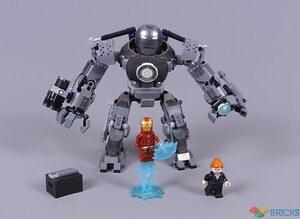 review 76190 iron man iron monger mayhem