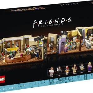 review lego 10292 the friends apartments 2021
