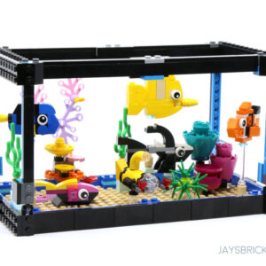 review lego 31122 fish tank
