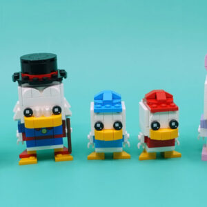 review lego ducktales 40477 and daisy duck 40476 brickheadz