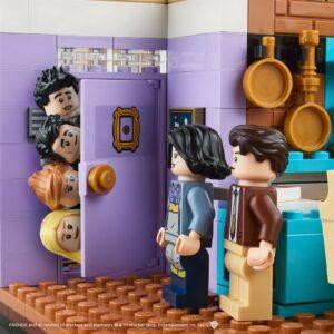 sneak peek at the new lego monicas apartment set