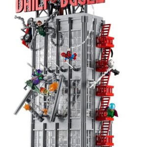 the lego marvel daily bugle 76178 clocks in as the tallest lego marvel set ever