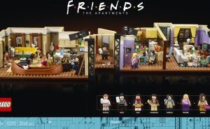 the one with the new friends set