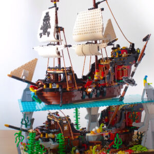 this lego pirates diorama is a sign of things to come for the crew