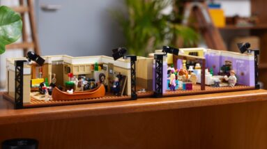 watch lego 10292 friends apartments come together in time lapse build video