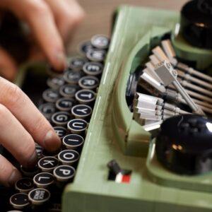 a masterstroke of design lego typewriter designers qa rlfm days 2021