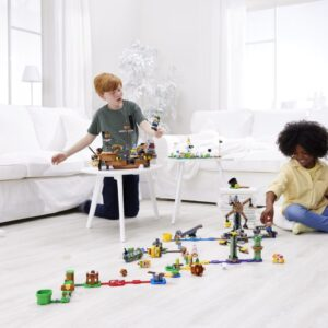 all the new lego super mario summer 2021 sets revealed including new multiplayer mode featuring luigi