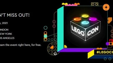 first lego con coming this weekend