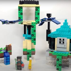 first look at lego minecraft 21173 the sky tower