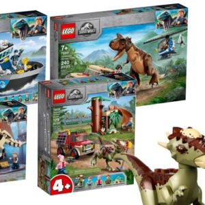 first look new 2021 lego jurassic world camp cretaceous sets