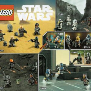 heres a closer look at the lego star wars summer 2021 minifigures