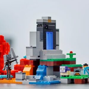how does a custom lego minecraft portal compare to a real set