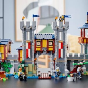 how to improve your lego creator 31120 medieval castle