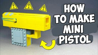 How to make a Lego Pistol That Shoots