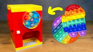 How to make a LEGO POP IT Machine
