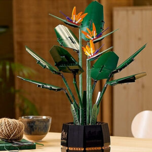 lego botanical collection bird of paradise review