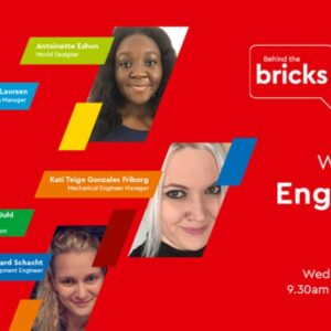 lego group celebrates women engineers with virtual event