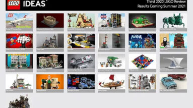 lego ideas review results announcement