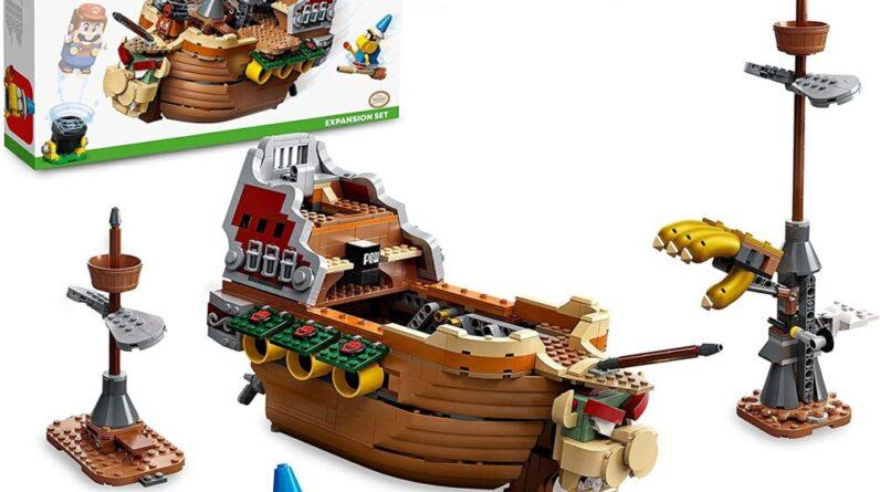 lego super mario bowsers airship 71391 revealed