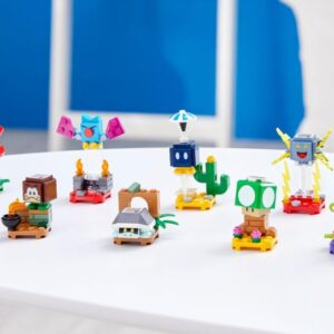 lego super mario character packs series 3 revealed including a 1 up mushroom