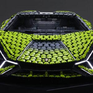 lego unveils a life sized 400000 piece technic lamborghini sian fkp 37