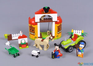 review 10775 mickey mouse donald ducks farm