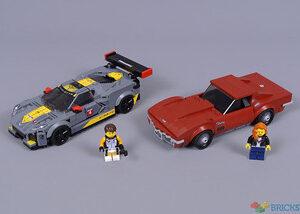 review 76903 chevrolet corvette c8 r race car and 1968 chevrolet corvette
