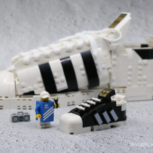 review lego 40468 mini adidas superstar gift with purchase